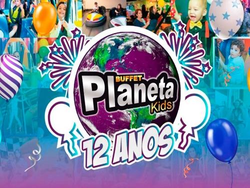 Promoção de Aniversário do Planeta Kids